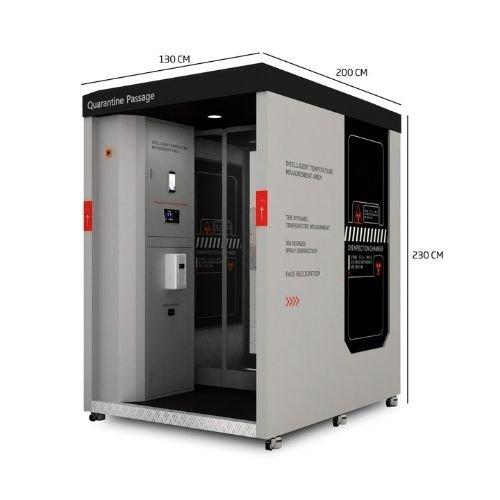 Cabina Inteligente de Desinfección AL-012
