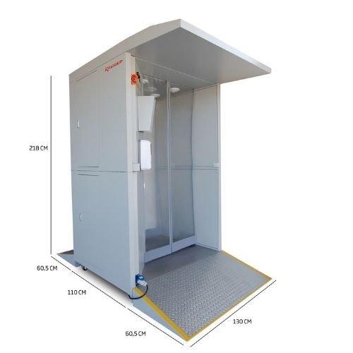 Cabina Inteligente de Desinfección AL-013