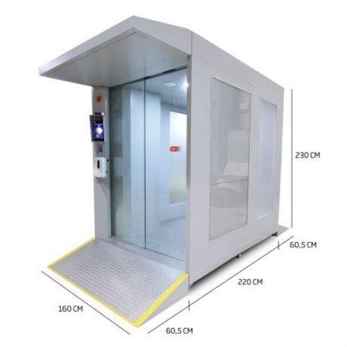 Cabina Inteligente de Desinfección AL-014