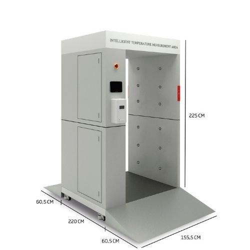 Cabina Inteligente de Desinfección AL-015