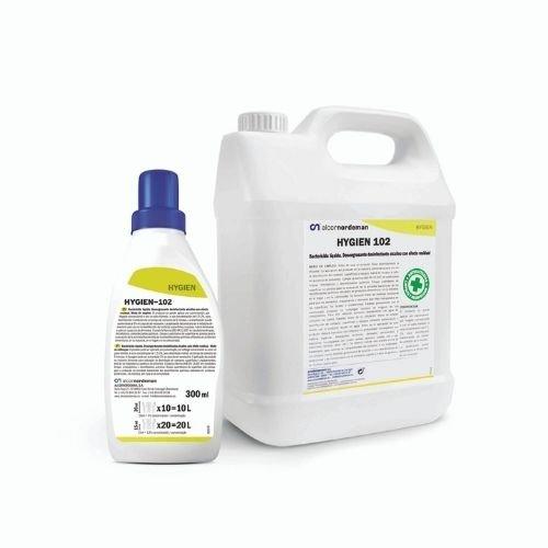 Detergente-desinfectante especial con registro Sanitario 5L – 0,3L