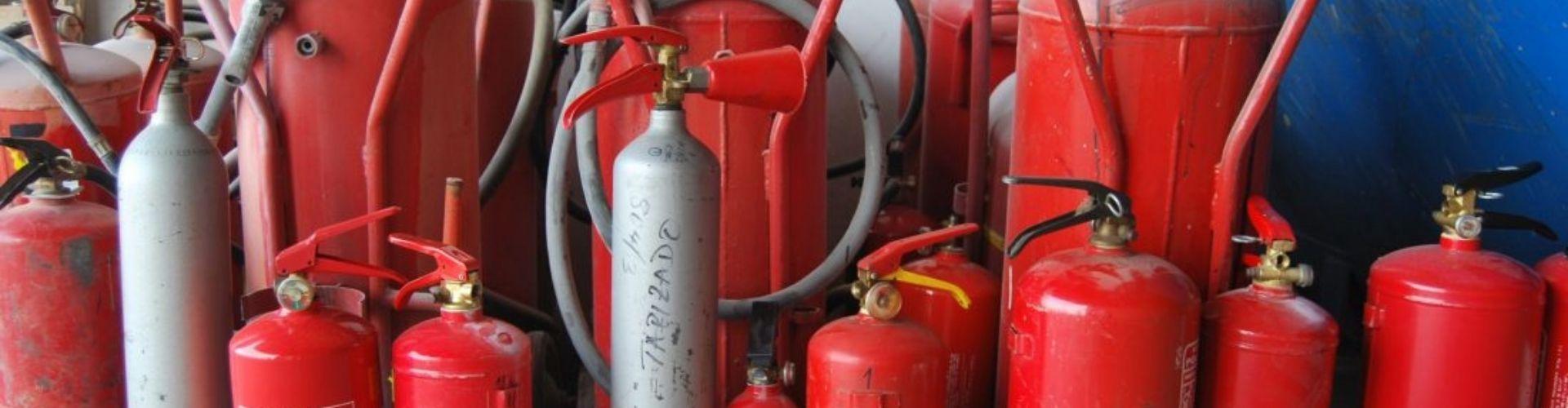 Recogida y Destrucción de Extintores Alesza