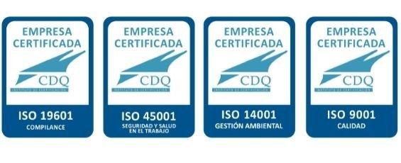 certificaciones ISO_alesza Services