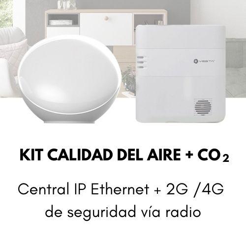 Kit Calidad del Aire +CO2 Smart Control Centralita de Seguridad Alesza Services (6)