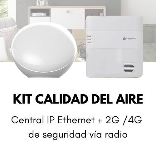 Kit Calidad del Aire Smart Control Centralita de Seguridad Alesza Services (2)