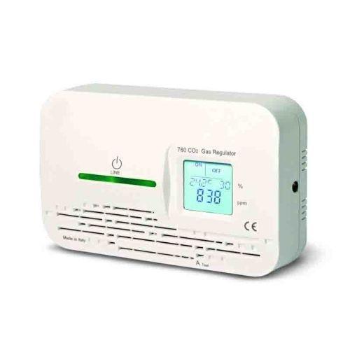 Medidor de CO2 ambiente con salida relé y señal óptica AL01