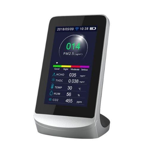 Monitor de CO2 de escritorio con WiFi y App (1)