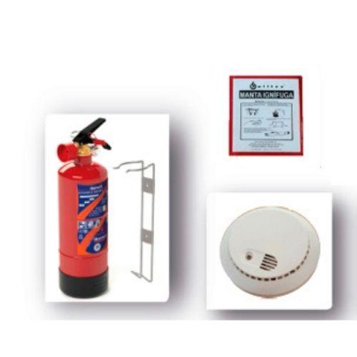 Kit Doméstico Contra Incendios (2)