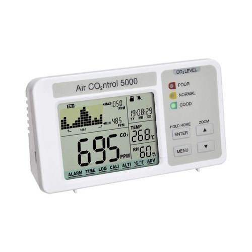 Medidor de CO2 con Registro de Datos - TFA Dostmann